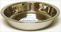 Small Stainless Steel Shallow Bowl - 15cm