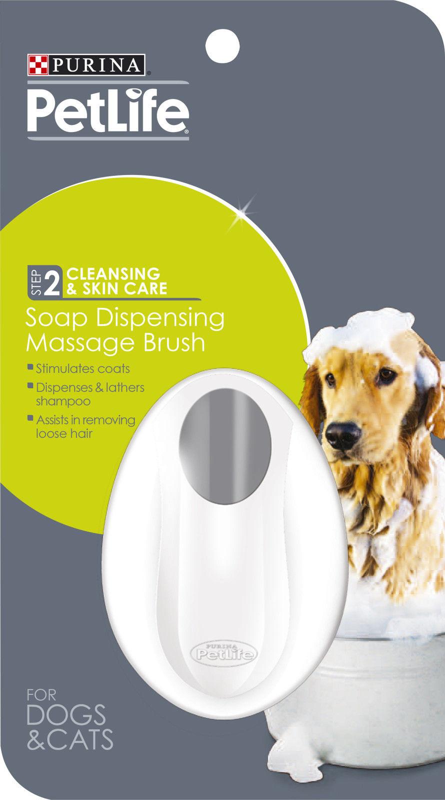 Purina Petlife Soap Dispensing Brush