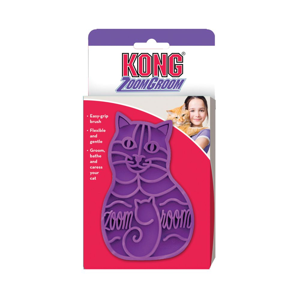 KONG Zoom Groom Cat Brush