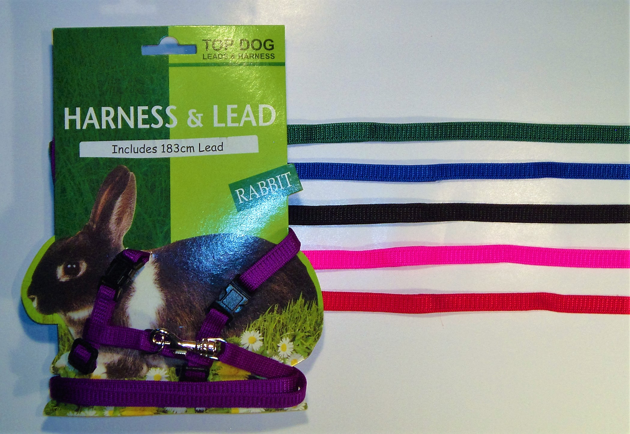 Rabbit Harness with 183cm Lead
